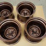 Antique Copper Wheels 2