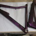 Ruby Sparkle Bike Frame